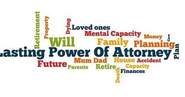 What would happen if you couldn't deal with your financial affairs due to ill health?